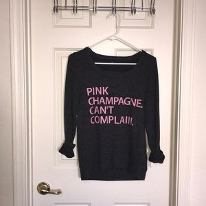 Women's small CHASER graphic sweater